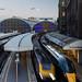 High Speed Trains at London Paddington Station by Joe Dunckley