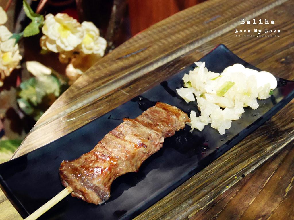 新北永和永安市場站附近好吃餐廳美食串燒居酒屋推薦燒鳥串道 (16)