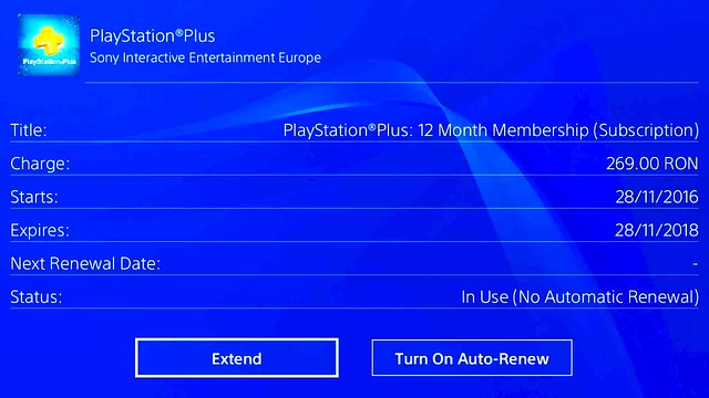 How to turn off PlayStation Plus auto renew, Your subscription status hasn't changed. Try updating it again in a few moments