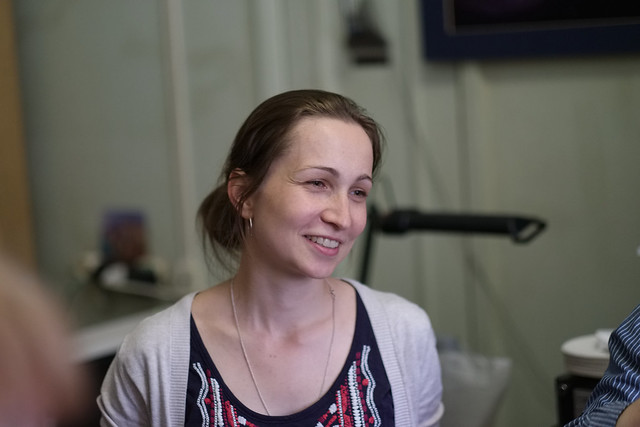 Anastasia Kasparova, SAI MSU