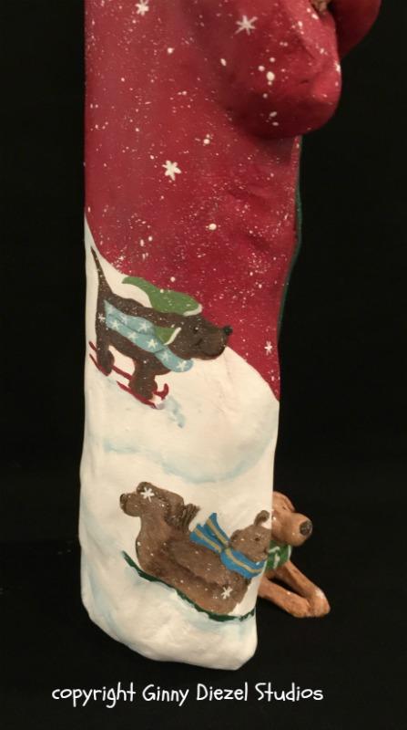 A Dog's Christmas, back view
