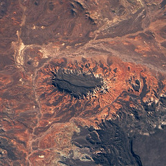 Volcanic Plateaus in Argentina Seen From Space