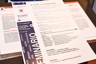 Seminario CCNL e Bilateralità - Palazzo Regione Toscana 2016