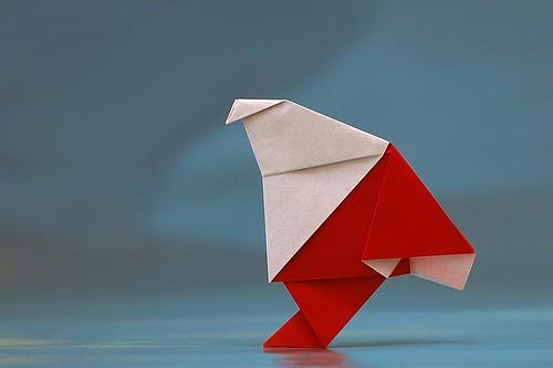 Origami Babbo 3 (Luigi Leonardi)