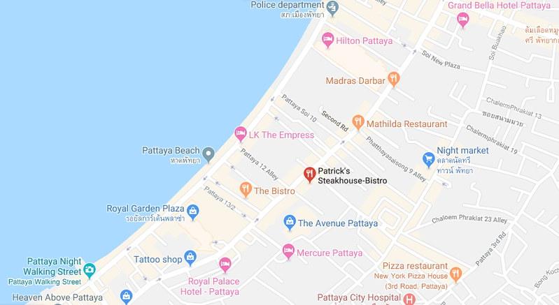 Patrick's Belgian Steakhouse Pattaya