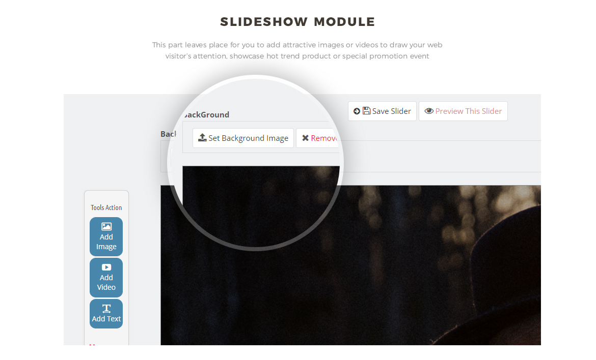 Slide show module for Clothing and Accessories Prestashop theme