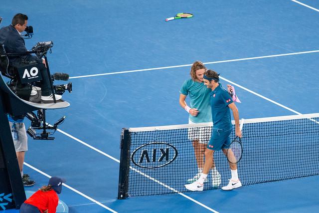 Australian Open Tennis 2019 - Stefanos Tsitsipas def. Roger Federer