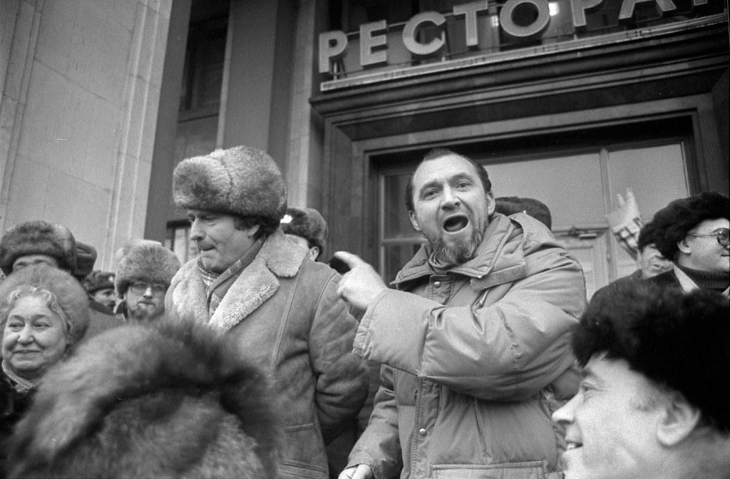 Ужасы горбачёвского режима или первый арест