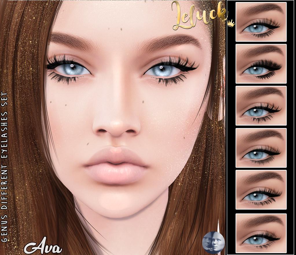 [LeLuck]Genus Different Lashes Set