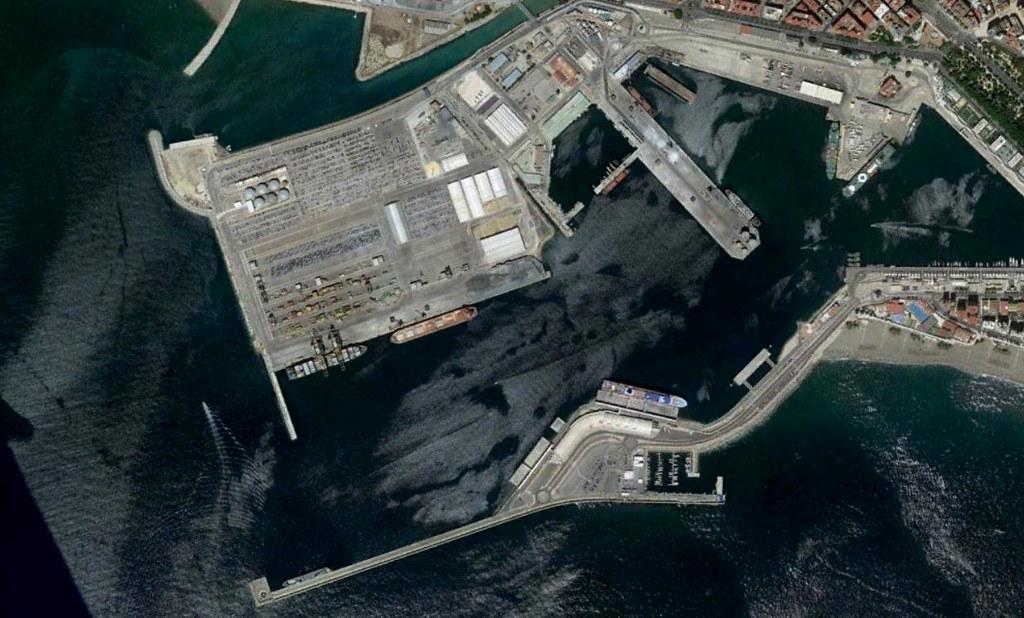 terminal de contenedores del puerto de málaga, málaga, mi PFC, después, urbanismo, planeamiento, urbano, desastre, urbanístico, construcción, rotondas, carretera