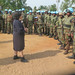 Beni, North Kivu, DR Congo: The Special Representative of the UN Secretary-General in the DR Congo and head of MONUSCO , Mrs. Leila ZERROUGUI,  this Tuesday November 27, 2018, visited  Beni to reafirm her support to troops,