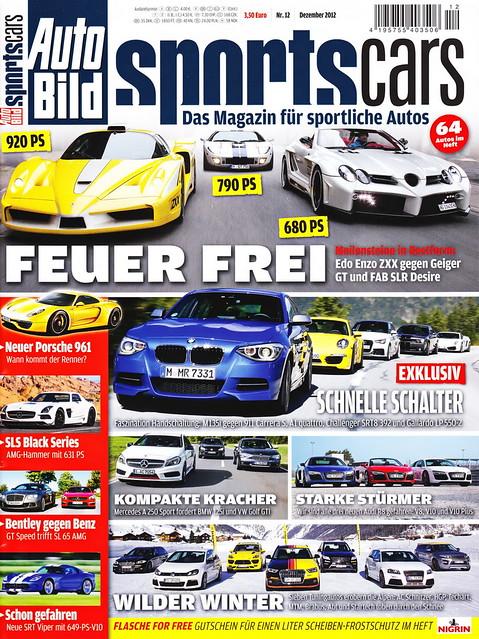 Auto Bild Sportscars 12/2012