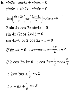 Plus One Maths Model Question Papers Paper 4A19.1