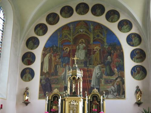 20170929 02 514 ostbay Rattenberg Kirche Apostel Medaillions Bilder