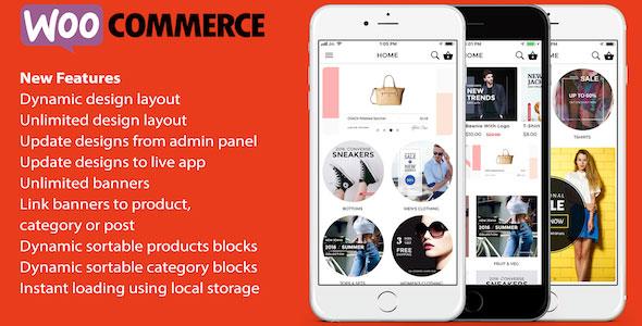 ionic 3 App for WooCommerce v1.9