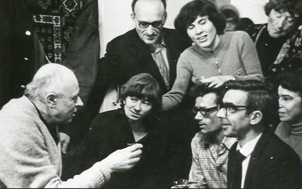 1977. Проводы в эмиграцию семей Вайлей и Любарских