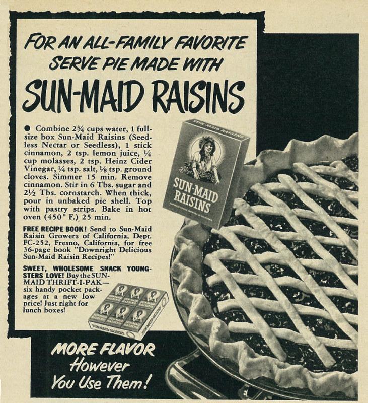 Sun-Maid 1952