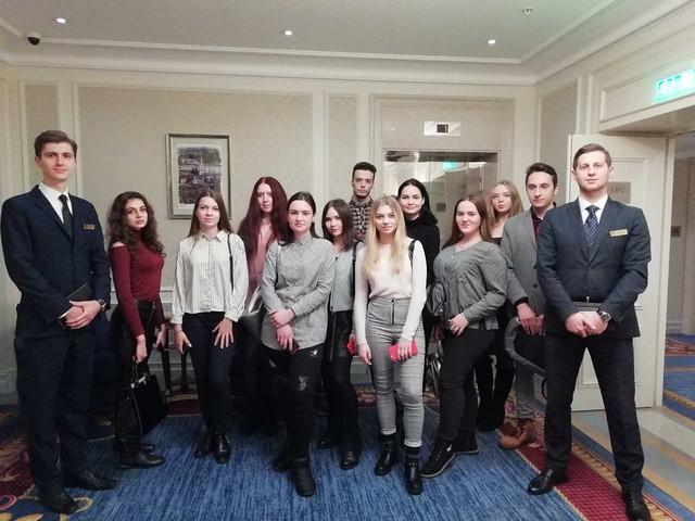 Туризм: екскурсія до готелю «Fairmont Grand Hotel Kyiv» / 15.11.2018