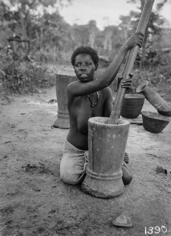 1931-1932. Африканская экспедиция Ханса Шомбургка. Часть 7. Бельгийское Конго