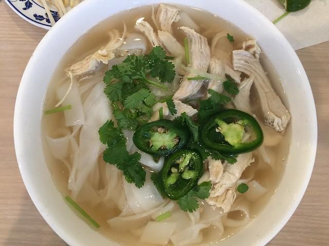 Pho Ga (thick noodles)