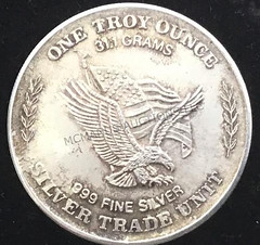 Strategic Stockpile Silver Round reverse