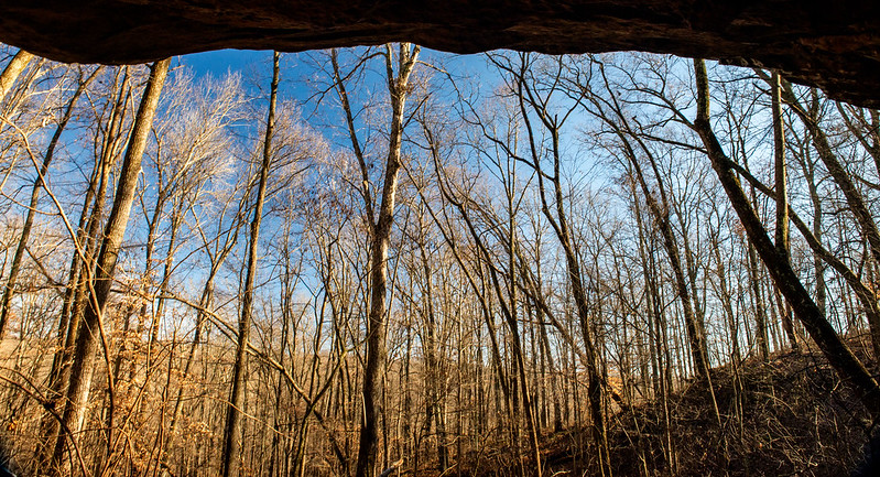 Hoosier National Forest - Little Blue River - Rock House - December 17, 2018