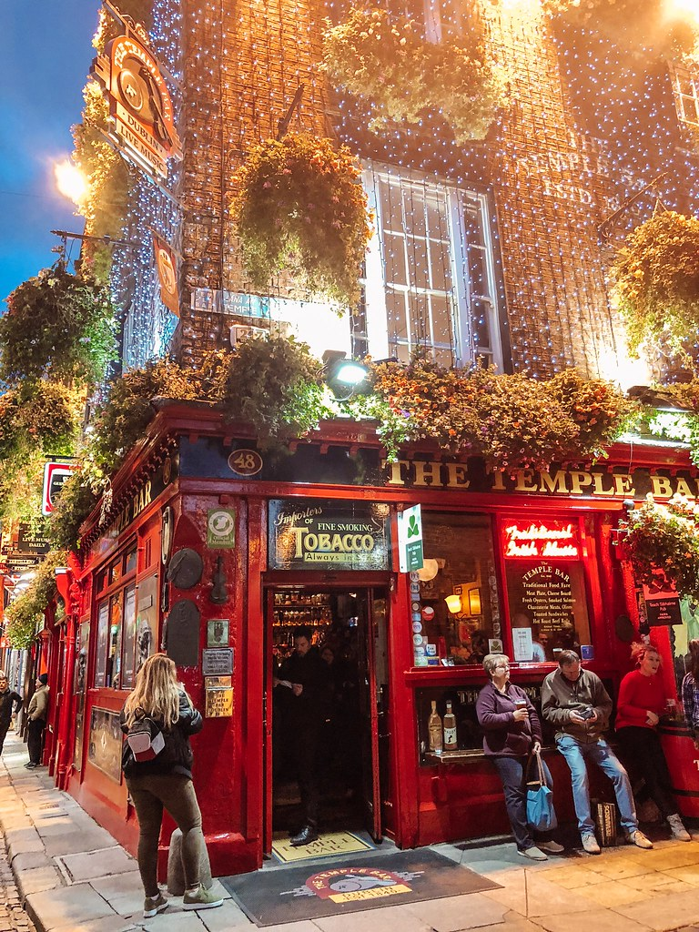 The Temple Bar   Ireland and Scotland Itinerary