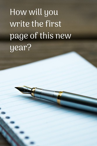Through the Eyes of an Educator: How will you write the first page of this new year?