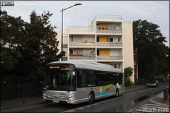 Heuliez Bus GX 337 Hybride - Cars Lacroix / STIF (Syndicat des Transports d'Île-de-France) – Le Parisis n°1012