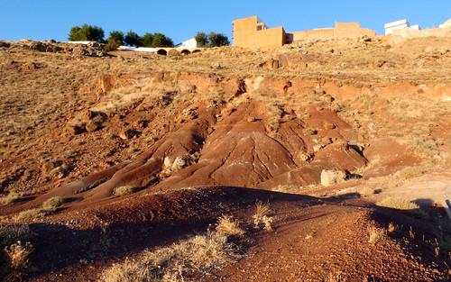Erosión en el cerro de Alhambra