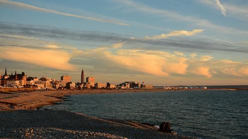 Fin d'après-midi au Havre