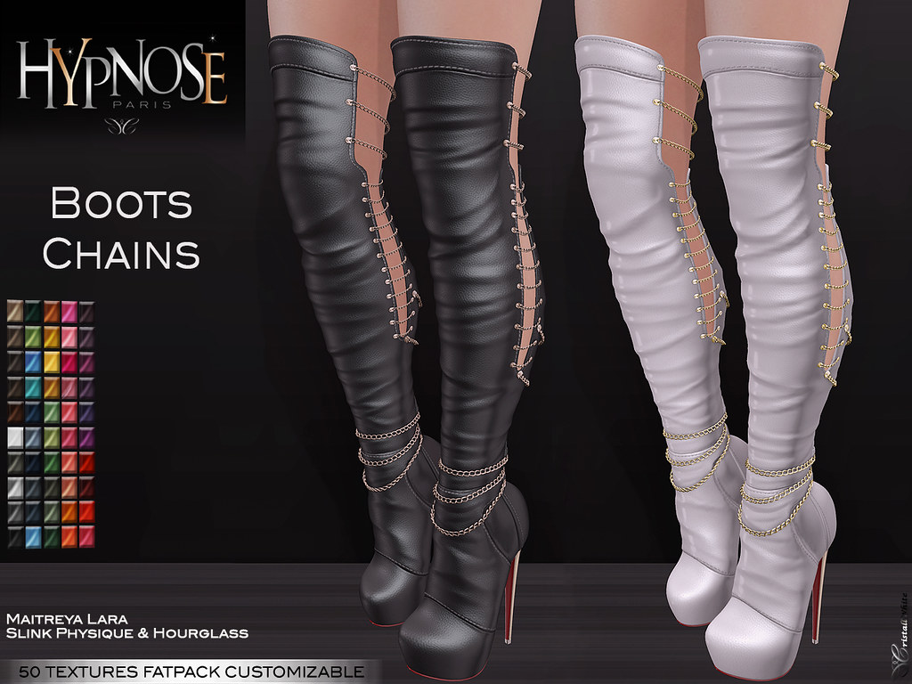 HYPNOSE – BOOTS CHAINS