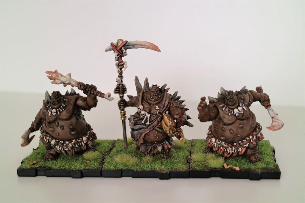 Runewars Miniatures Obscene Gang