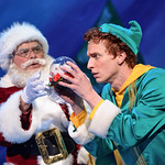 Elf - The Musical at the Arvada Center - Colin Alexander (Santa) and Josh Houghton (Buddy) Matt Gale Photography 2018