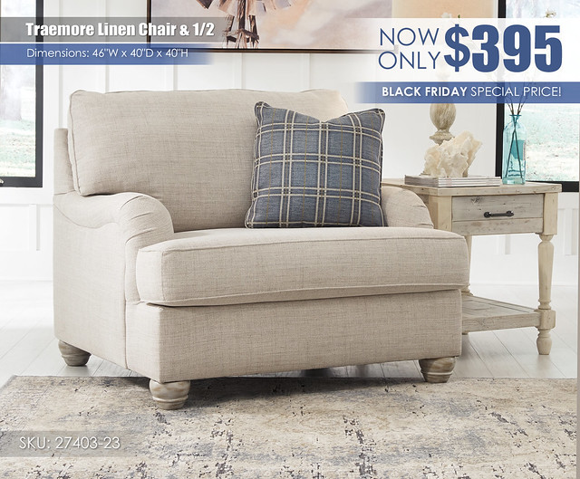 Traemore Linen Chair Special_27403-23