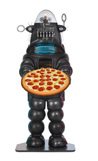 Robot-Made Pizza