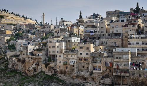 view east jerusalem from city david old israel jerusalemdistrict il jlm middleeast middle altstadt historic ancient יְרוּשָׁלַיִם wadi hilweh