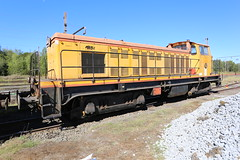 Locomotive Colas-Rail en gare d'Anor - Photo of Clairfontaine