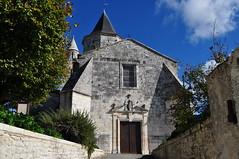 Façade XVIIIe, église romane Saint Martin, Arces, Saintonge, Charente-Maritime, Nouvelle-Aquitaine. - Photo of Grézac