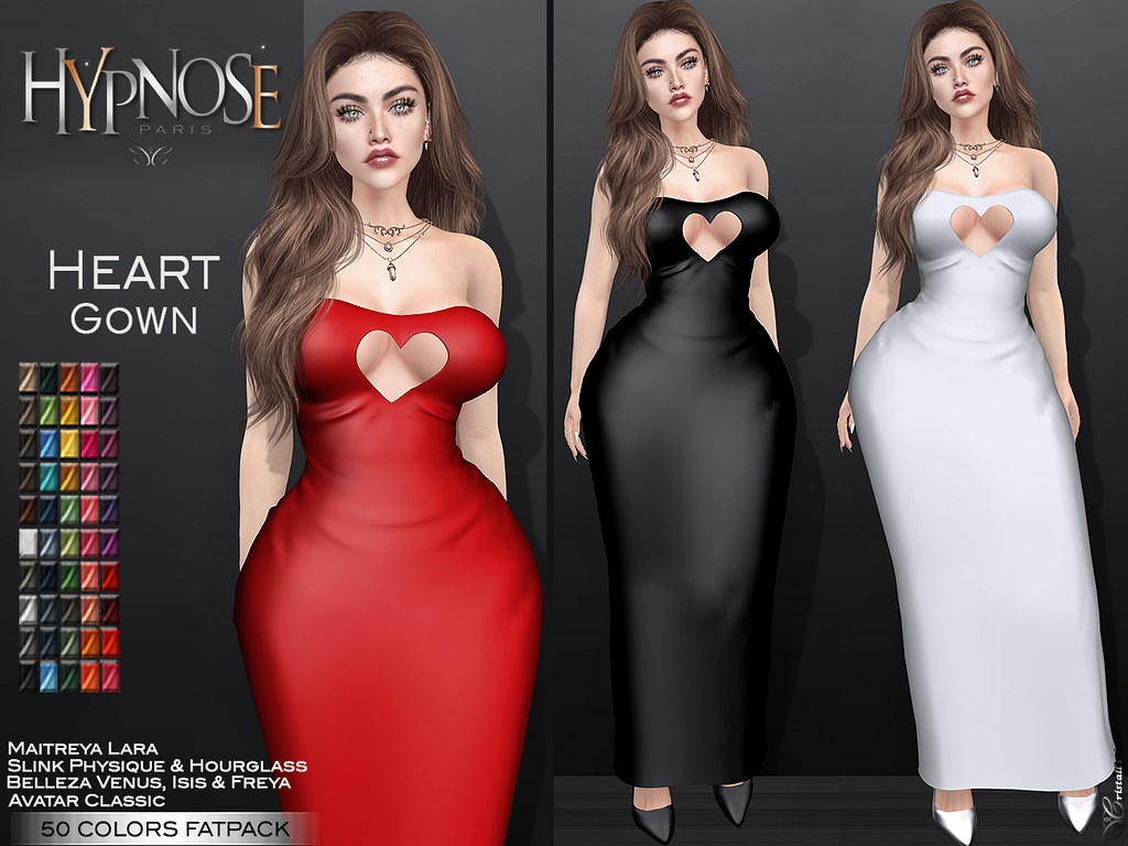 HYPNOSE – HEART GOWN