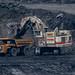 Open Cast Coal Mining @ Shotton England .