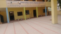 Amruthahalli High School new look