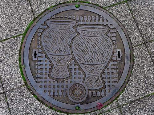 Edogawa Tokyo, manhole cover (東京都江戸川区のマンホール)