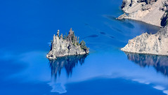 Phantom Ship Island, Crater Lake, Oregon
