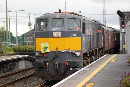 Irish Rail 078 in Athenry.