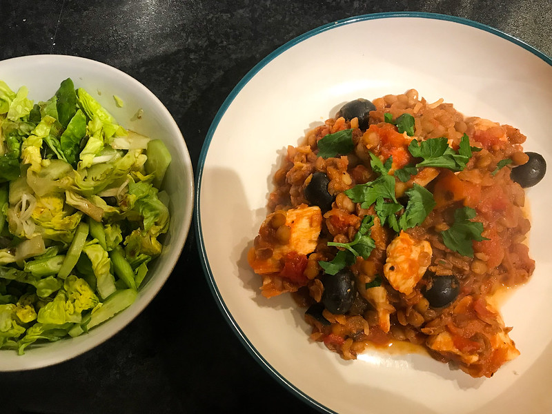 Chicken & Lentil Stew