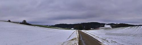 Talwärts im Winter