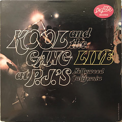 KOOL &THE GANG:LIVE AT THE P.J.'S(JACKET A)