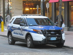 Boston Police Department Ford Police Interceptor Utility
