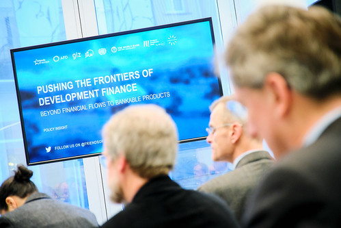 Pushing the frontiers of development finance